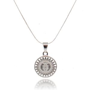 Amuletti mit Silber Halskette