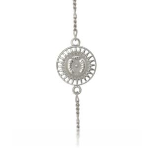 Amuletti mit Silber Armkette