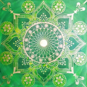 Energiebild Mandala Heilung