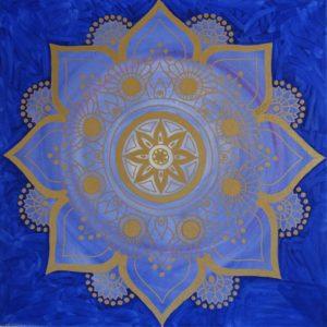 Energiebild Mandala Frieden