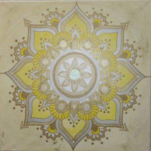 Energiebild Mandala Fülle