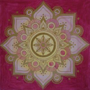 Energiebild Mandala Liebe