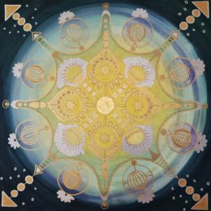 Energiebild Mandala Beispiel 1