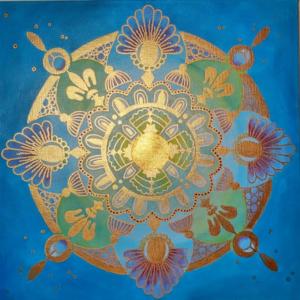 Energiebild Mandala Beispiel 2